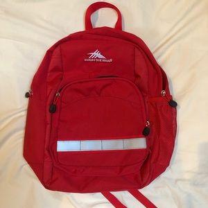High Sierra Red Student Backpack